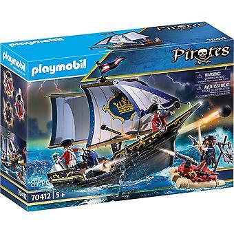 Playmobil Pirater Rödrock Caravel