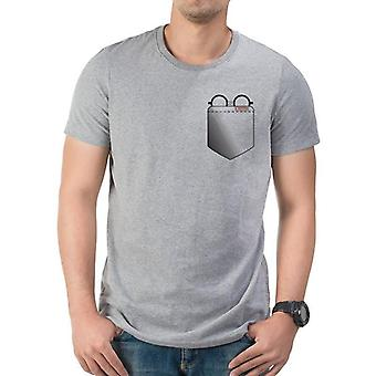 T-shirt per occhiali tascabili per adulti Harry Potter Unisex