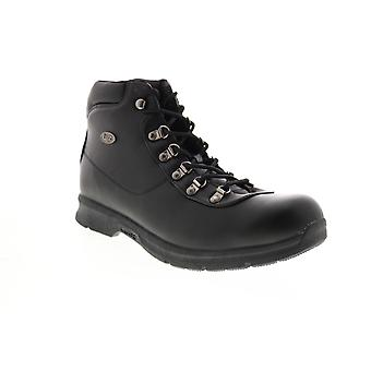 Lugz Plank  Mens Black Synthetic Lace Up Casual Dress Boots