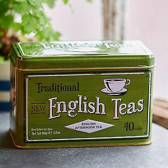 Vintage selection english afternoon tea tin 40 teabags