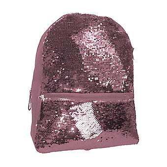 TMC Girls Reversable Sequin Backpack Lilac, 9.4L