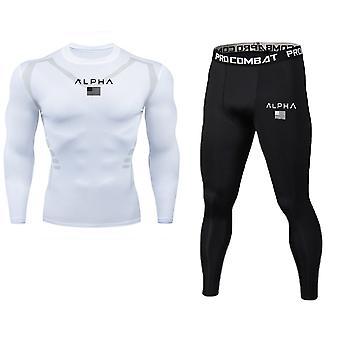Long-sleeved T-shirt/leggings