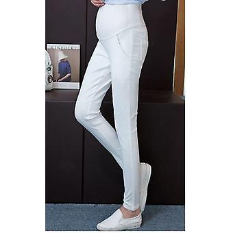 Trousers Belly Slim Wast Thin Pencil Feet Pants
