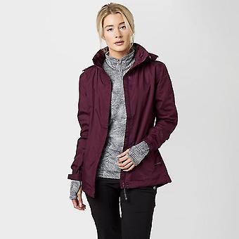 New Peter Storm Women's Downpour Waterproof Jacket Purple (en)