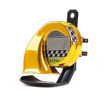 12v Dc 130db Snail Air Motorcycle Horn Siren/ Loud 510hz For Car Truck