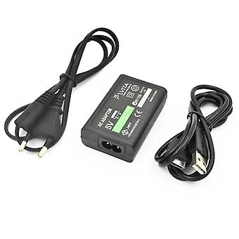 Eu Plug Home Wall Charger Power Supply Ac Adapter With Usb Data Charging Cable