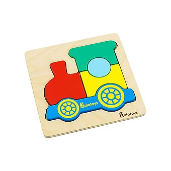 "Alatoys Wooden  Puzzle ""Steam Train"""