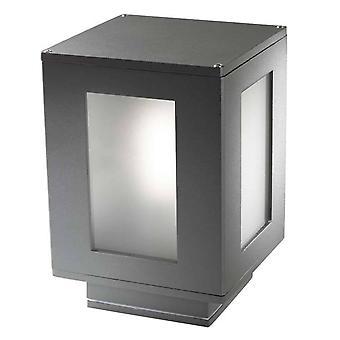 Forlight Alfil - Badrum Utomhus Piedestal Urban Grå 1x E27 IP44