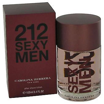 212 Sexy After Shave By Carolina Herrera 3.3 oz After Shave