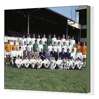 Derby County - 1971/2 Division One Kampioenen. Afdrukken van vakcanvas. Voetbal - Derby County 1972.