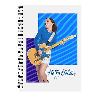 Holly Hobbie Playing Guitar Spiral Notebook