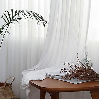 Sheer Curtains For Living Room/ Bedroom Window