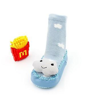 Non-slip Cotton Cartoon Newborn Autumn Winter Baby Soft Warm Cute Socks