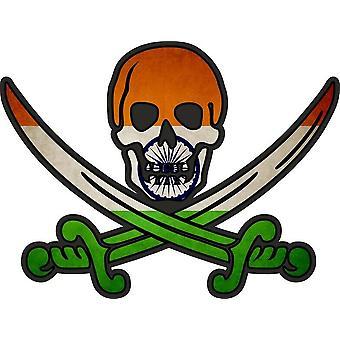 ملصق ملصقا القراصنة جاك rackham calico العلم البلد IND الهند