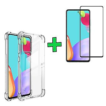FONU Anti-Shock Backcover Hoesje & Screen Protector Samsung Galaxy A52
