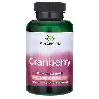 Swanson Cranberry 180 Kapseln