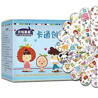 Cartoon Bandages Adhesive Wound Plaster First Aid
