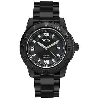 Gevril Seacloud Automatic Black Dial Men's Watch 3122B