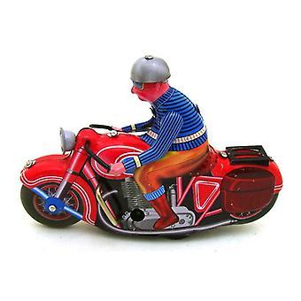 Vintage Retro Motorrad Zinn Spielzeug