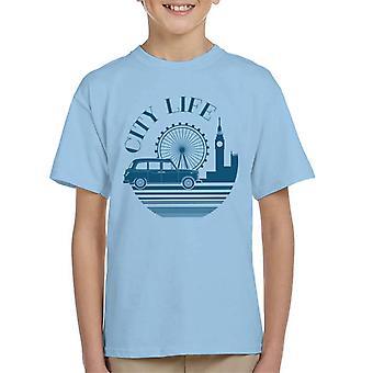 London Taxi Company City Life Kid's T-Shirt