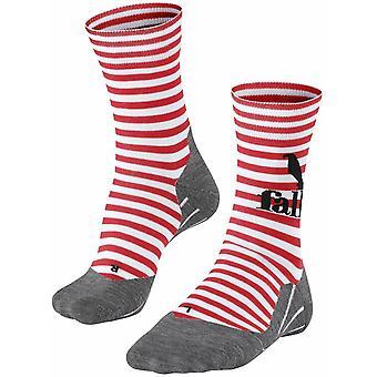 Falke Kører 4 Trend Socks - Rød / Hvid