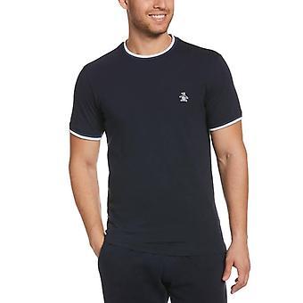 Original Penguin Sticker Pete Ring T-Shirt - Dark Sapphire