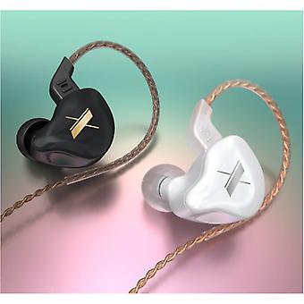 KZ EDX 1DD Earbuds - 3.5mm AUX Earpieces Noise Control Volume Control Wired Earphones Earphone Transparent