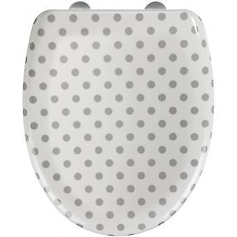 wc-bril Punto 38 x 46 cm wit