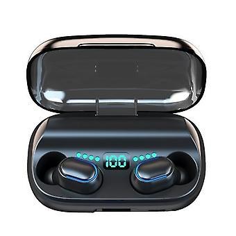 T11 TWS trådløst stereo BT øretelefon i øret 9D HiFi Sports Ørepropp