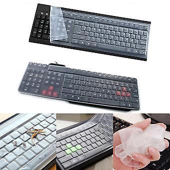 Универсальная силиконовая обложка клавиатуры настольного компьютера