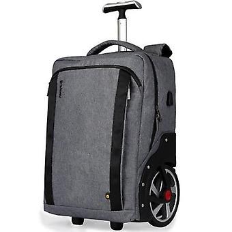 Koulureppu, matkalaukku, liikkuvat matkalaukut