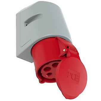 PCE 125-6tt CEE vägguttag 32 A 5-stifts 400 V 1 st