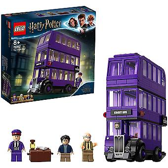 FengChun 75957 Harry Potter Der Fahrende Ritter Spielzeug, Dreifachdeckerbus, Sammlerset mit
