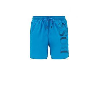 Hugo Boss blæksprutte Polyester blå Shorts