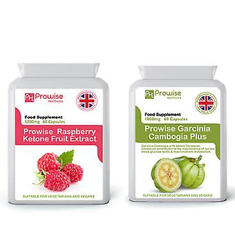 Raspberry Super Strength + Garcinia Cambogia | Suitable For Vegetarians & Vegans | Made In UK by Prowise