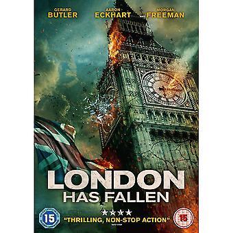 London har fallit DVD