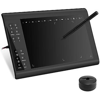 10moons G10 Graphic Drawing Tablet Signature Pad With Pen 8192 For Pc Mac Windows