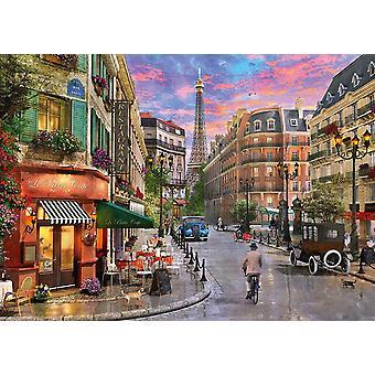 Schmidt Road till Eiffeltornet pussel (1000 stycken)