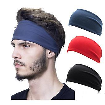 Muži Ženy Joga Sport Headband Šatka Wicking Čelenky Basketbalové hračky