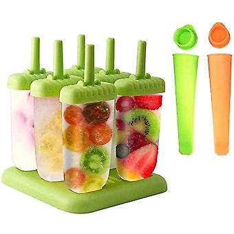 Ice Lolly Moulds And 2 Ice Cream Moulds