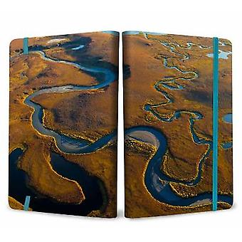 Refuge: Arctic River Softcover Notebook
