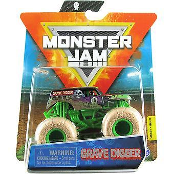 Monster Hillo 1:64 Diecast Monster Truck Elementals Haudankaivaja
