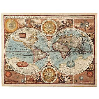 Mural de fondo de pantalla un mapa antiguo de 1626