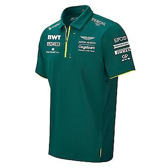 2021 Aston Martin F1 Official Team Polo - (Green)