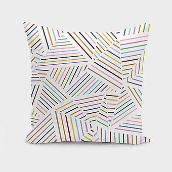 Rainbow Zoom Cushion Pillow Cover