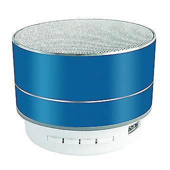 Bezdrátový Bluetooth reproduktor TF USB AUX Podpora audio reproduktor (modrá)