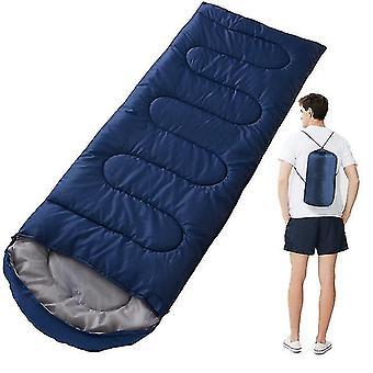 Alas ultralight camping makuupussi alas täytetty vedenpitävä fluff makuupussit puristuspussi