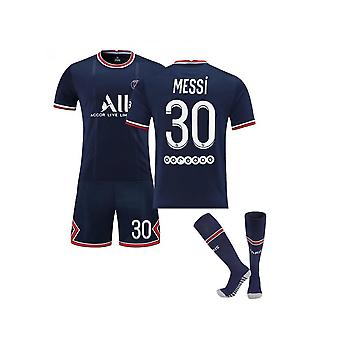 Messi Psg Jersey,paris Team T-shirt-messi-30, Paris Team (Erwachsene Kleidung)