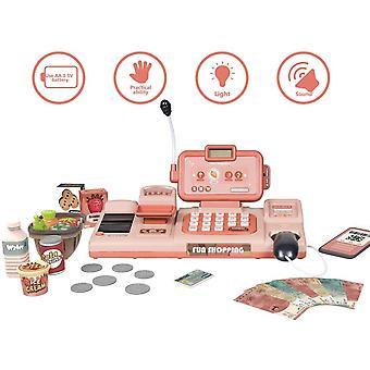 Lelu kassaostokset Teeskentele Pelaa raha-automaattia, Tummanruskea