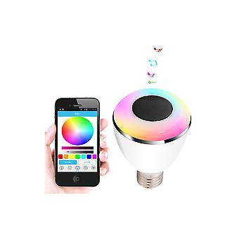Bl08a Smart Led Blub Light Altavoz inalámbrico Bluetooth Luces Led110v-240v E27 3w Lámpara Audio para Iphone 5s 5c Ipad